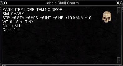 Kobold Skull Charm