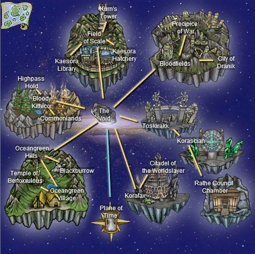 EverQuest World Maps | Pak'Cafan : EverQuest
