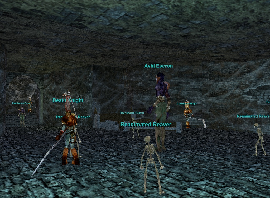 Ruins of Lxanvom (Crypt of Decay) :: Zones :: EverQuest :: ZAM