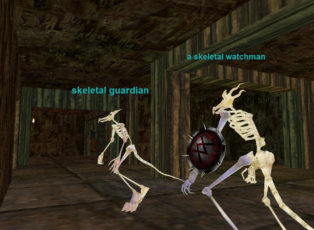 karnor's castle :: zones :: everquest :: zam, Skeleton