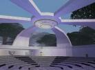 Inside a Coliseum-Like Structure