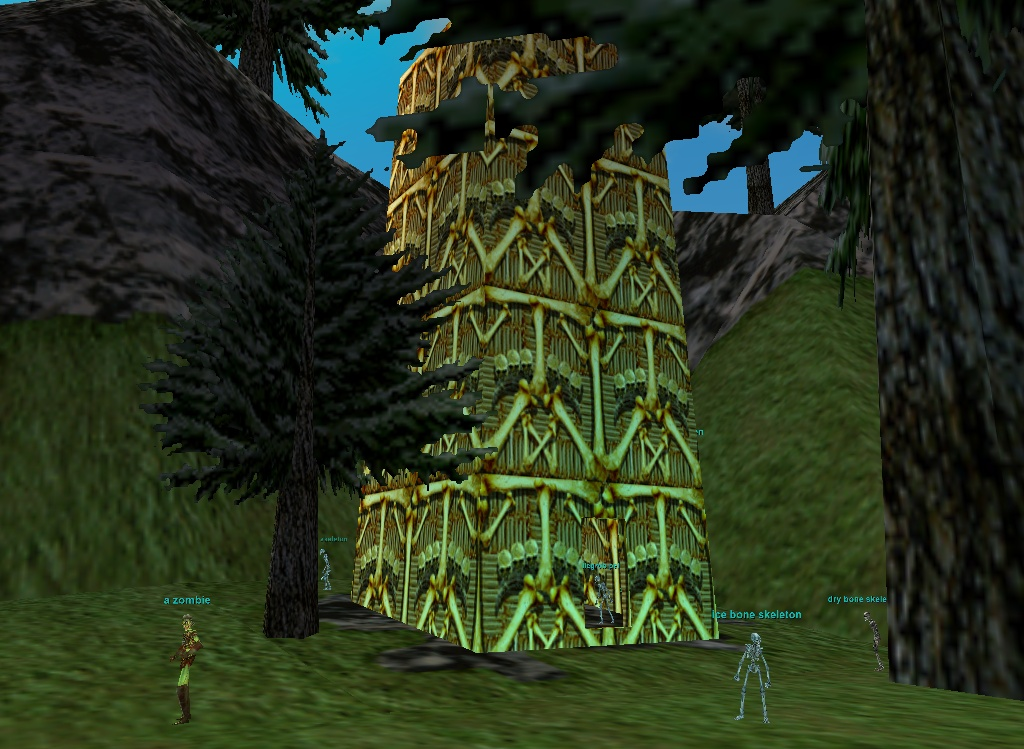 mountains of rathe :: zones :: everquest :: zam, Skeleton