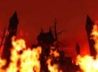Fire Surrounds the Amygdalan Temple