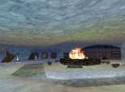 Fire Outside Agar's Shop